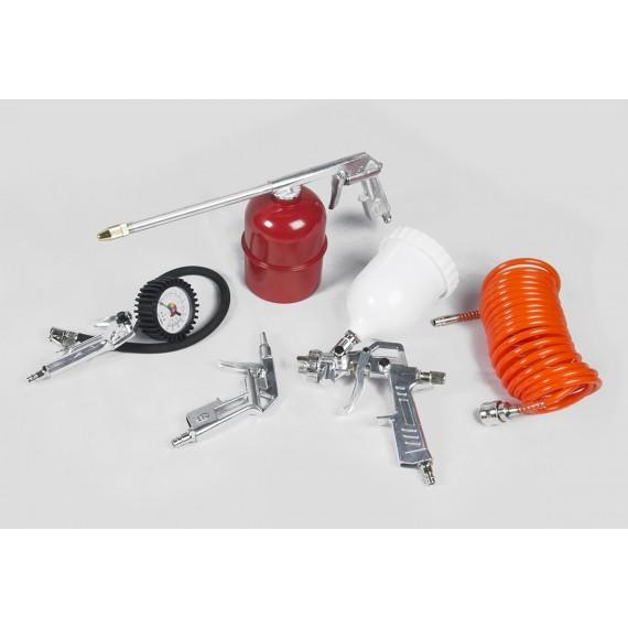 Air Compressor 5 Piece Tool Kit