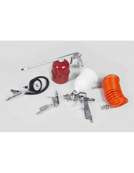 Burisch Air Compressor 5 Piece Tool Kit