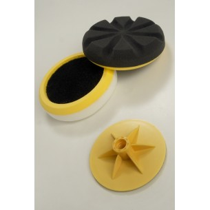 Compounding & Polishing Pad Kit With Backing Plate 150mm