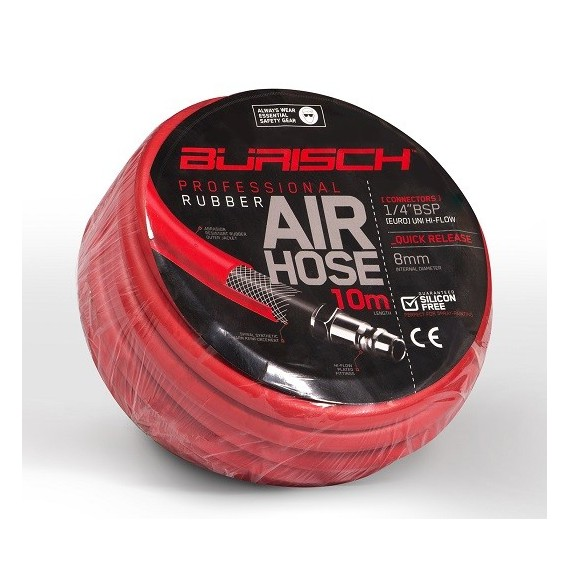 Rubber Air hose 10 meters Professional Series