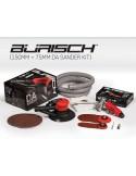 "Burisch™ Mini DA/Orbital Air Sander + 6"" 150mm DA Air Palm Sander Plus 20 free sanding discs"
