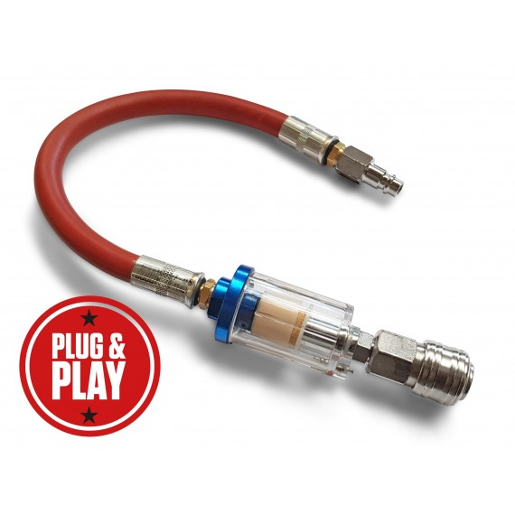 In-line Water Trap 300mm lead - Plug & Play
