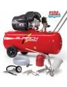 Burisch 5 Piece Kit BT-3100V 100 Litre Air Compressor