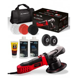 Burisch HDR2500 Dual Action DA Electric Polisher + Compound Kit