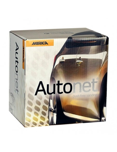 "Mirka Autonet 150mm 6"" P120 Sanding disc (Pack of 50)"
