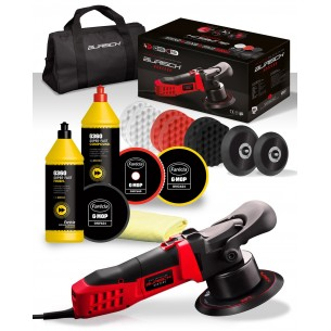 BURISCH HDR2500 DA Polisher + Farecla G360 Super Fast Compound + Finish Kit