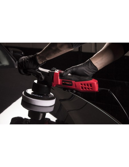 BURISCH HDR2500 DA Polisher + Farecla G3 Premium polish wax kit + bag + pads