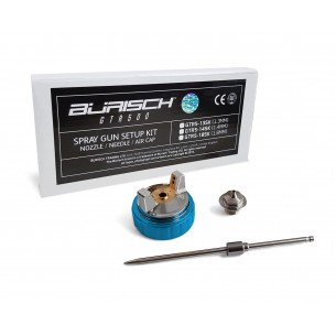 BURISCH GTR500 1.4mm Setup Kit - Needle Nozzle Cap