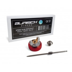 BURISCH GTR500 1.3mm Setup Kit - Needle Nozzle Cap