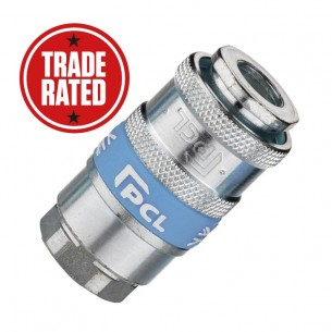 "PCL Airflow (UK STYLE) 3/8"" Female Thread Quick Coupling"