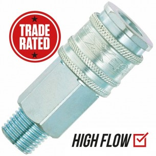 "PCL XF (EURO) 3/8"" Quick Coupling AC71EM Male thread"