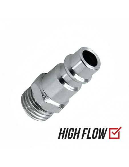 "XF (EURO) 1/4"" Male Thread High Flow Coupler"