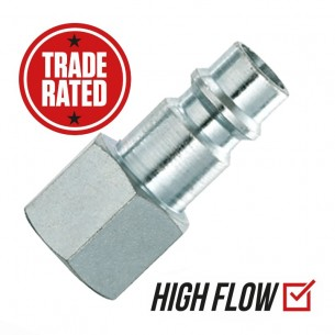 "PCL XF (EURO) 3/8"" Female High Flow Coupler"