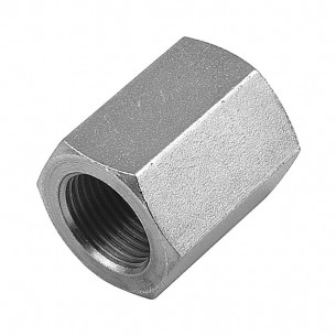 "1/2"" BSP Equal Female Straight Coupler"