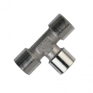"1/4"" BSP Equal Female T Piece"