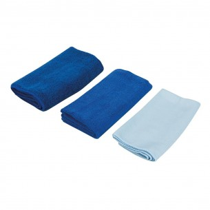 Microfibre Cloth Cleaning Set 3 piece set