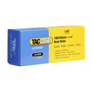 Tacwise 18G Brad Nails 30mm (5,000 Pack)