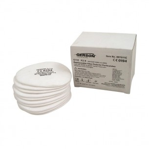 Gerson Replacement P2 pre filter for 9200E Half Mask