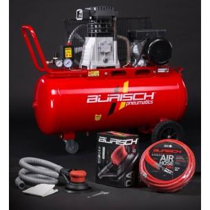 Burisch DA Kit 90 Litre Air Compressor Belt Drive BT-390T