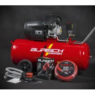 Burisch DA Kit 100 Litre Direct Drive 3HP Air Compressor BT-3100V