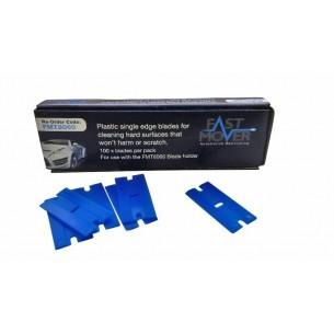 Plastic Single Edged Blades 100pcs