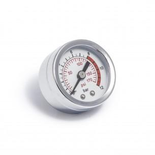 Air Pressure Gauge 40mm - Steel / Glass