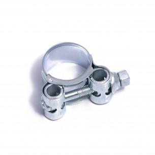 20-22mm MIKALOR Zinc plate Steel Hose Clamp