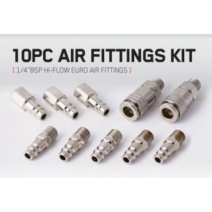 "10 Air Fittings 1/4"" BSP..."