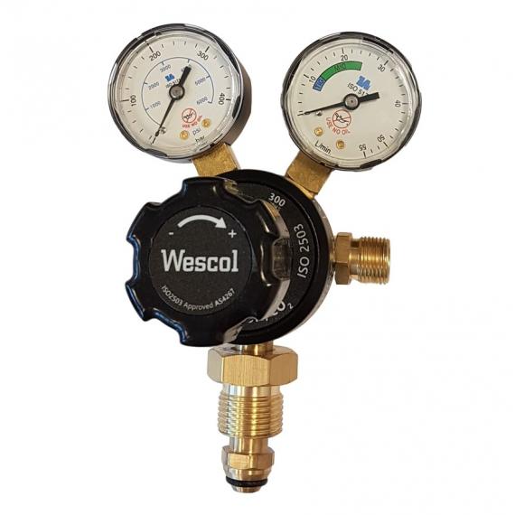 Wescol Gas Regulator 35L/min Argon or...