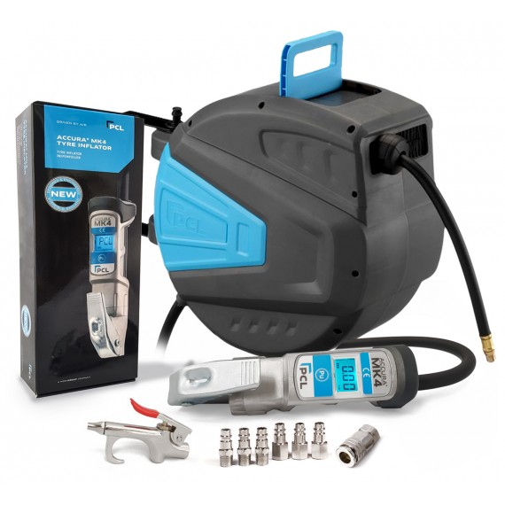 PCL ACCURA Tyre Inflator + 15M...