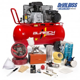 Burisch Air Compressor 90L...