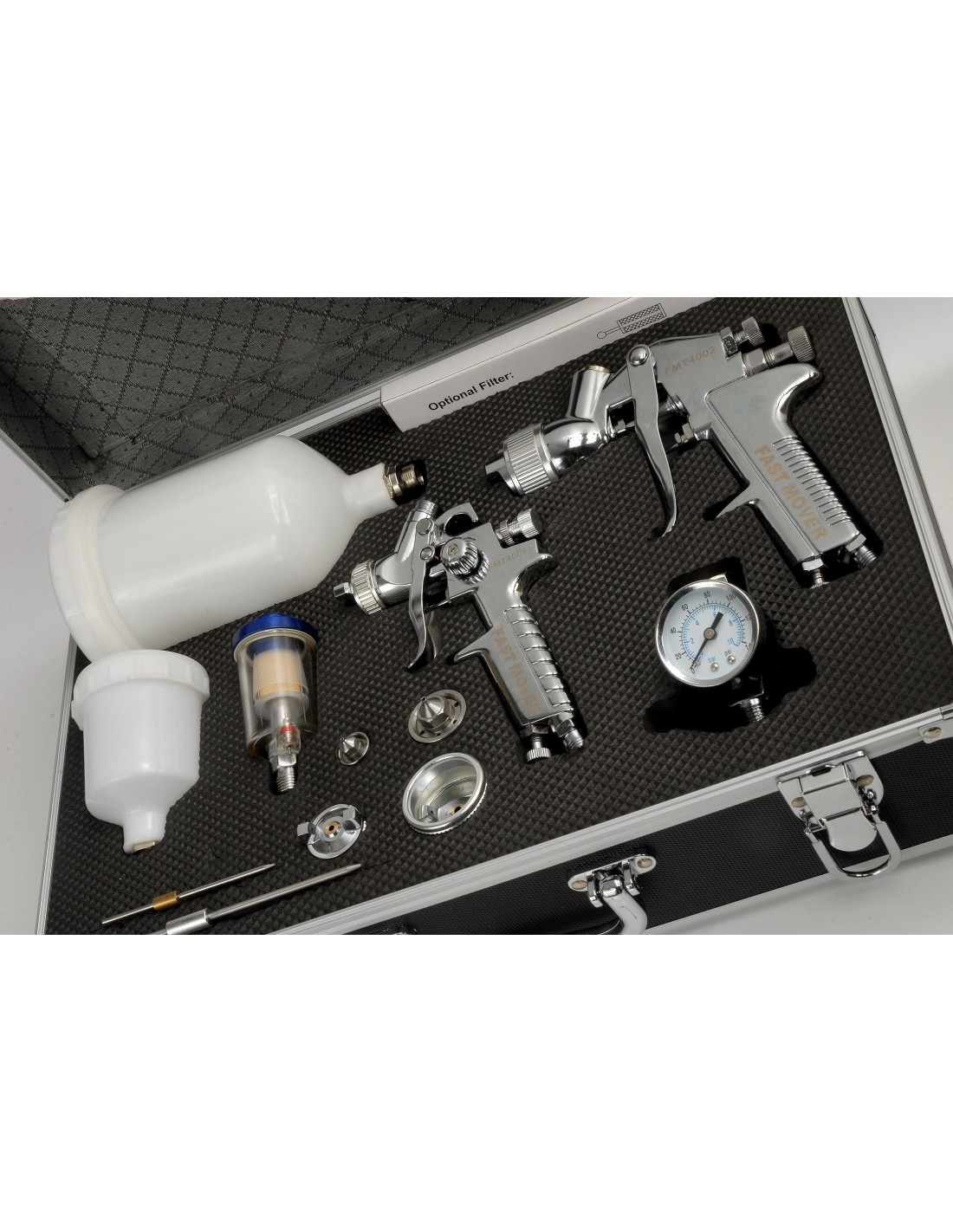 Hvlp Spray Gun Kit >> Fast Mover Spray Gun Kit