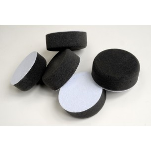 Polishing Pad, 75mm x 30mm, Black - Pack of 5