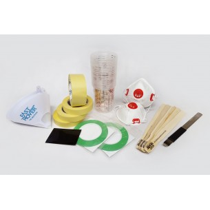 Professional Series Spray Paint Consumables Kit - All the essential consumables required