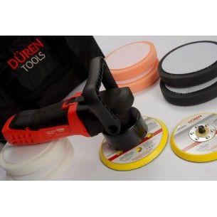 Duren DA Electric Polisher 8 Piece Kit 240v 150mm