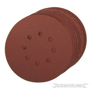 Hook & Loop Discs Punched 150mm 10pack