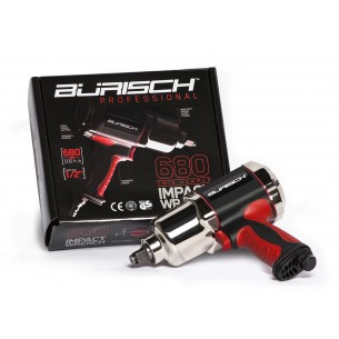 Burisch Air Impact Wrench Professional 680 Twin Hammer