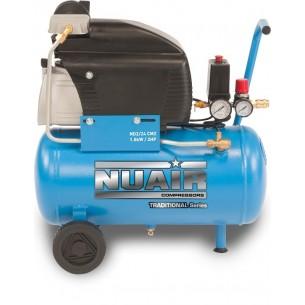 Nuair Direct Drive Air Compressor 2HP 24 Litre