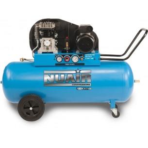 Nuair Belt Drive 3HP 150Litre 10Bar Air Compressor