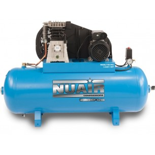 Nuair Belt Drive 3HP 150Litre 10Bar Air Compressor