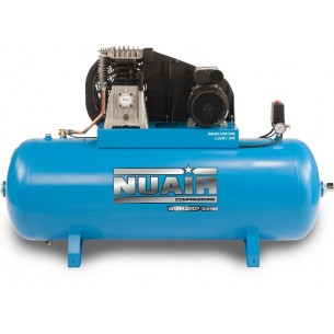 Nuair Belt Drive 3HP 200Litre 10Bar Air Compressor