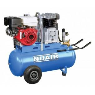 Nuair Petrol 100Litre Honda 9HP Air Compressor