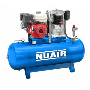 Nuair 270Litre 11HP Electric Start Stationary Air Compressor