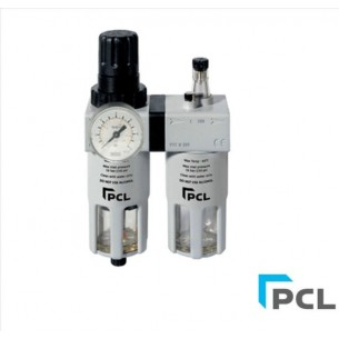 "PCL ATCFRL12 1/2"" Filter/Regulator and Lubricator"