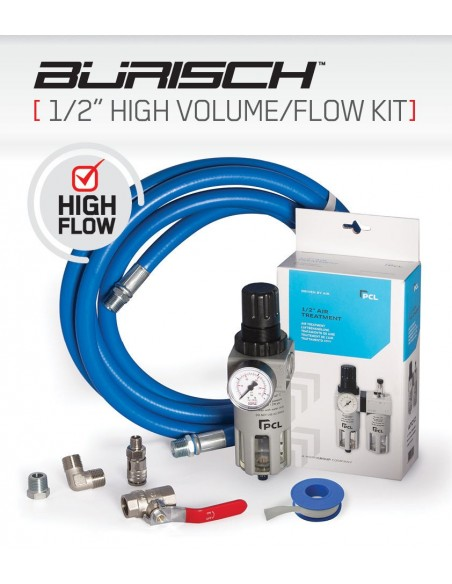"HALF High Volume 1/2"" Air Treatment Kit"