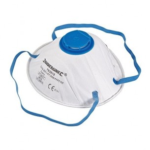 Spray Dust Mask with Valve and FFP2 rated