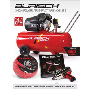 Impact Wrench & 100L Air Compressor Kit