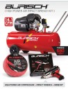 BASIC Impact Wrench kit & 100L air compressor kit