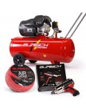 BASIC Impact Wrench kit & 100L air compressor kit