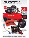 FULL Burisch 680nm Impact wrench & 50L air compressor kit